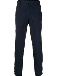 Lanvin Gingham Wool Blend Trousers 60