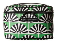 Petunia Pickle Bottom Glazed Travel Train Case Playful Palm Springs Wallet Green
