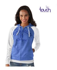 G3 Sports Women's Los Angeles Dodgers First Pick Hoodie Royalblue White