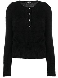 Tom Ford Tube Sleeve Cardigan Black