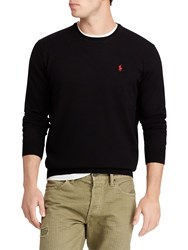 Ralph Lauren Polo Long Sleeve Merino Jumper Polo Black