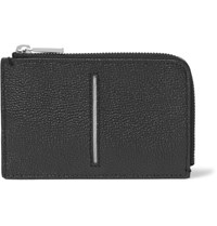 Tod's Pebble Grain Leather Wallet Black
