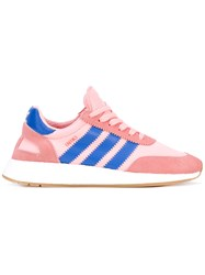 Adidas Iniki Running Shoes Women Suede Polyamide Polyimide Rubber 8.5 Pink Purple