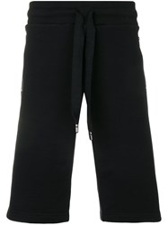 Dolce And Gabbana Long Track Shorts Black