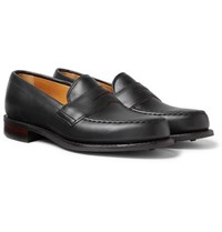 Cheaney Howard Leather Penny Loafers Black