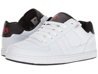 Osiris Relic White Black Red Men's Skate Shoes