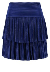 Tfnc Cyntha Mini Skirt Navy Dark Blue
