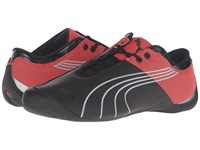 Puma Future Cat M1 Core Black Red Blast Men's Shoes Gray