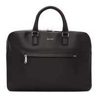 Paul Smith Black Slim Folio Briefcase