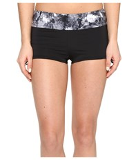 Tyr Verona Della Boyshorts Black Grey Women's Swimwear