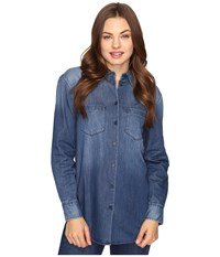 Ag Adriano Goldschmied Hartley Shirt Skylight Women's Clothing Blue