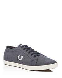 Fred Perry Kingston Lace Up Sneakers Blue