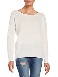 360 Cashmere Endless Summer Cashmere Sweater Chalk