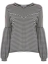 Spacenk Nk Lea Striped Top Black