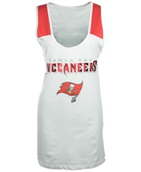 5Th And Ocean Women's Tampa Bay Buccaneers Athletic Tank Top White Red