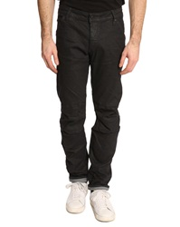 G Star 3D Tapered Fit Low Rise Coated Black Jeans