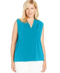 Jones New York Collection Plus Size Sleeveless Top