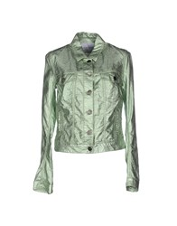 Jacob Cohen Jacob Coh N Coats And Jackets Jackets Women Light Green