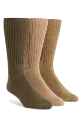 Calvin Klein Casual Socks 3 Pack Olive Multi