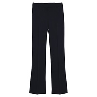 Mango Flared Trousers Black
