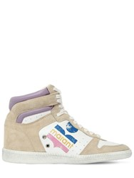 Isabel Marant 45Mm Bayten Leather And Suede Sneakers Array 0X57a66d0