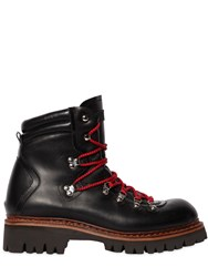 Dsquared 50Mm Leather Hiking Boots