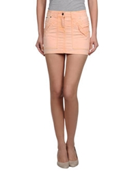 Parasuco Cult Denim Skirts Salmon Pink
