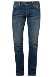 Japan Rags 711Slim Slim Fit Jeans Blue Blue Denim