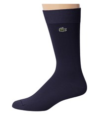 Lacoste Jersey Trouser Sock Navy Blue Men's Crew Cut Socks Shoes