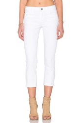 Hudson Jeans Fallon Crop White 2