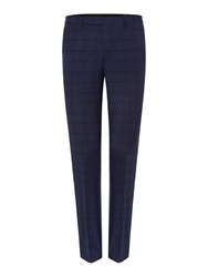 Label Lab Maxwell Slim Suit Trousers Blue