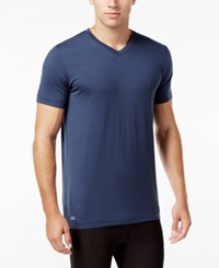 Lacoste Men's V Neck Sleep T Shirt Mood Indigo