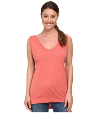 Black Diamond Rectory Tank Coral Women's Sleeveless