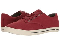 Seavees 08 63 Hermosa Plimsoll Standard Fire Brick Men's Shoes Red