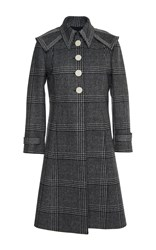 Marco De Vincenzo Prince Of Wales Coat Plaid