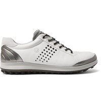 Ecco Biom Hybrid 2 Leather Golf Shoes White