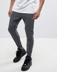 Pull And Bear Pullandbear Skinny Joggers In Dark Grey Grey