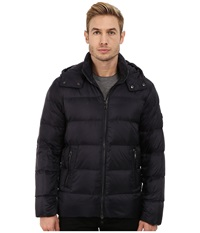 Michael Kors Lightweight Hooded Down Jacket Midnight Men's Coat Navy
