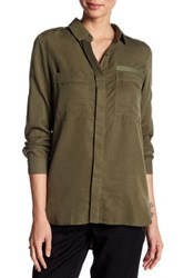 Fate Pocket Blouse Green