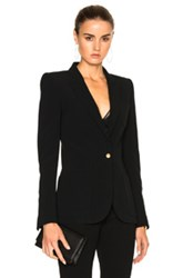 Barbara Bui Classic Cady Blazer In Black