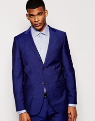 Dkny Classic Fit Suit Jacket Blue
