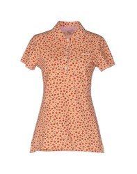 Roy Rogers Roy Roger's Topwear Polo Shirts Women Apricot