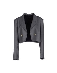 Pedro Del Hierro Suits And Jackets Blazers Women Grey