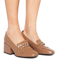 Pixie Market Chain Lady Loafers