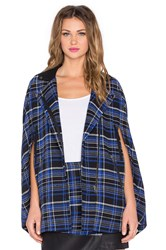 Lovers Friends Devon Moto Cape Blue