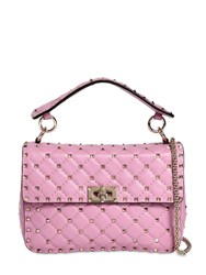 Valentino Garavani Spike Leather Bag Giacinto
