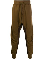 Haider Ackermann Drop Crotch Drawstring Trousers Brown