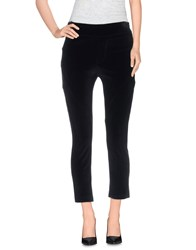 Pianurastudio Trousers 3 4 Length Trousers Women Black