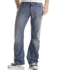 Levi's 527 Slim Bootcut Fit Medium Chipped Wash Jeans