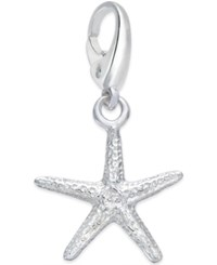 Giani Bernini Starfish Charm In Sterling Silver